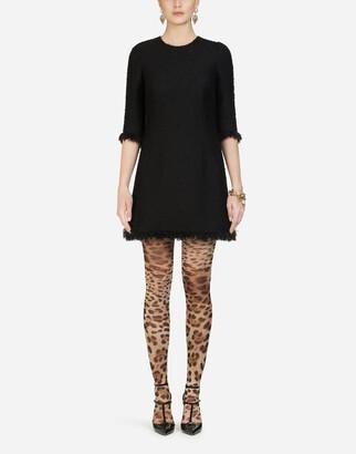 Dolce & Gabbana Boucle Midi Dress