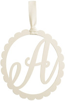 Mud Pie Scalloped Initial Wall Hanger - A