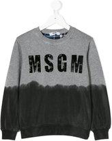 MSGM dyed effect sweatshirt