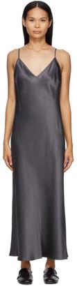 Joseph Grey Silk Clea Dress