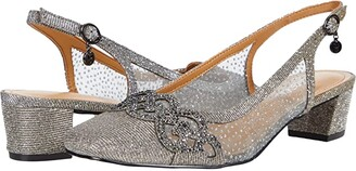 J. Renee Faleece (Pewter Glitter) Women's Shoes