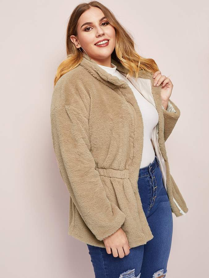 fe25095aebd Plus Size Coat - ShopStyle