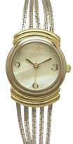 Merona Chain Round Case Two-Tone Watch - Gold/Silver