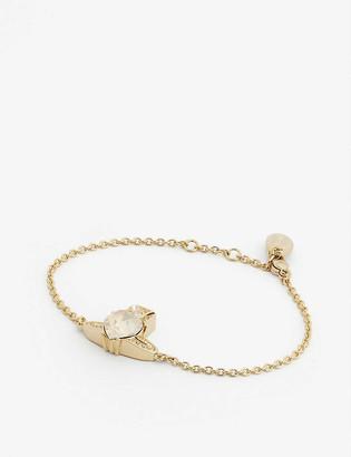 Vivienne Westwood Ariella crystal heart orb bracelet