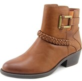 Easy Street Shoes Bridle Round Toe Synthetic Ankle Boot.