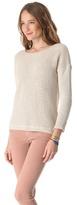 Joie Morie Mismatch Stitch Sweater