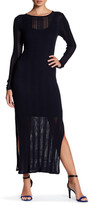 DKNY Rib Knit Maxi Dress