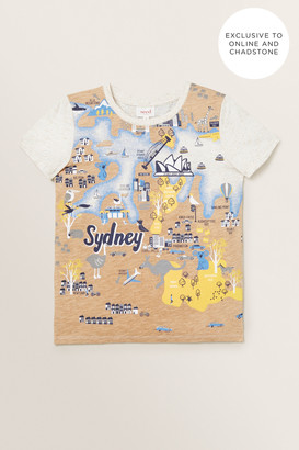 Seed Heritage Sydney Map Tee