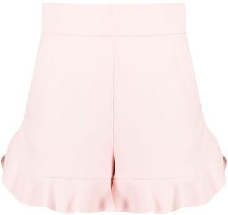 RED Valentino Ruffle-Trim Shorts