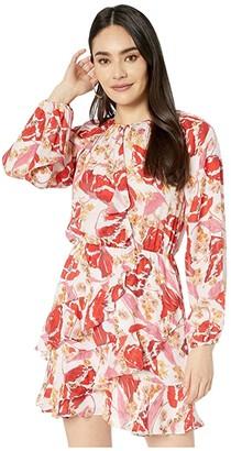 Parker Bertie Dress (Lennon Floral) Women's Clothing