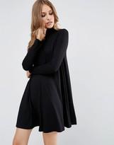 Asos Swing Dress with Turtleneck & Long Sleeves