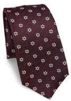 Kiton Floral Jacquard Silk Tie