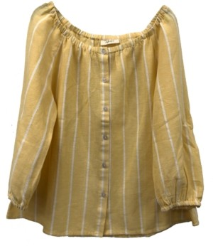 Style&Co. Style & Co Petite Striped Top, Created for Macy's