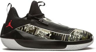 """Jordan Jumpman Hustle """"Olive Canvas"""" mid-top sneakers"""