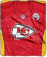 Northwest Company Kansas City Chiefs Jersey Plush Raschel Throw