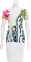 Etro Patterned Short Sleeve Top