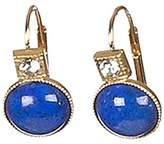 Sous le sable Pendant Earrings Brass and Lapis Lazuli Flavour