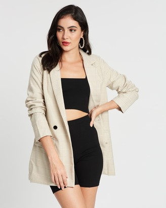 Missguided Co-Ord Longline Blazer