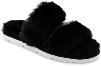Dolce Vita Puff Faux Fur Slipper