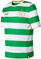 New Balance Celtic FC Junior Home Short Sleeved Shirt