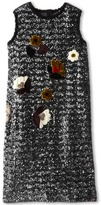 Dolce & Gabbana Sequin Shift Dress (Big Kids)