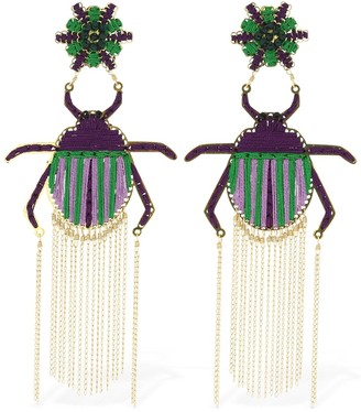 Mercedes Salazar Escarabajo Fugaz Clip-on Earrings