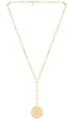 Gorjana Ana Coin Lariat Necklace