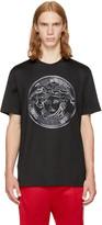 Versace Black Large Studded Medusa T-shirt