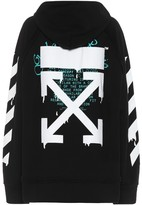 Off-White Off White Logo cotton hoodie
