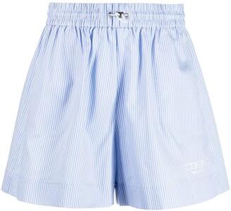 Iceberg High-Waisted Stripe Shorts