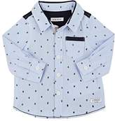 Ikks Infants' Hashtag-Print Cotton Shirt