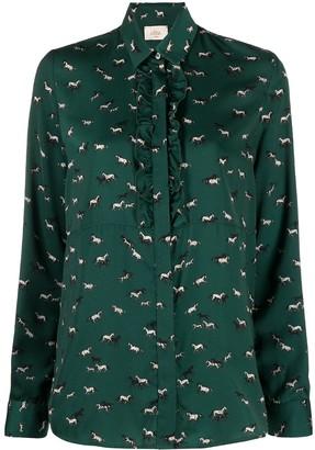 Altea Horse-Print Shirt