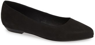 Eileen Fisher Jil Pointed Toe Leather Flat