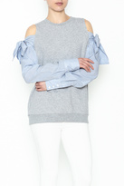 Do & Be Do-Be Tie Shoulder Sweater
