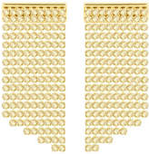 Swarovski NEW Fit Refresh Gold Plated Long Earrings