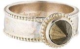 Amrapali Pyrite Spike Ring