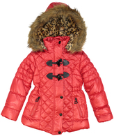 Urban Republic Crimson Red Toggle-Closure Puffer Coat - Toddler & Girls
