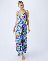 Accessorize Hawaiian Print Maxi Dress