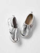 Gap Metallic slip-on sneakers