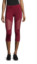 Electric Yoga Color Blocked Mesh Capri Pants