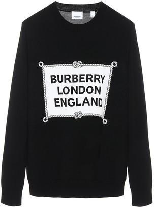 Burberry Logo Crewneck Jumper