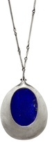 Ten Thousand Things Lapis Necklace - Oxidized Sterling Silver