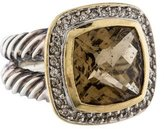 David Yurman Smoky Quartz Albion Ring