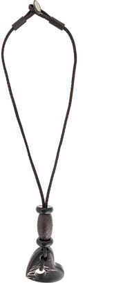 Giorgio Armani Pre-Owned Heart Charm Necklace