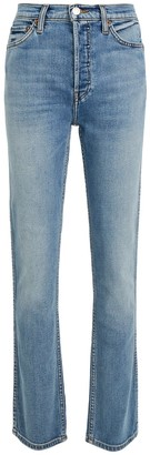 RE/DONE Double Needle Long Straight Jeans