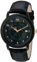 88 Rue du Rhone Men's 87WA130018 Analog Display Swiss Quartz Black Watch