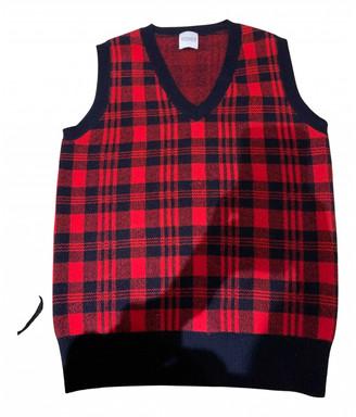 Madeleine Thompson Red Cashmere Knitwear