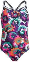 Dolfin One-Piece Swimsuit - UPF 50 (For Toddler Girls)