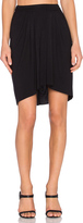 Bella Luxx High Low Pleated Skirt