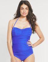 Seaspray Limited Edition Pleated bandeau swimsuit